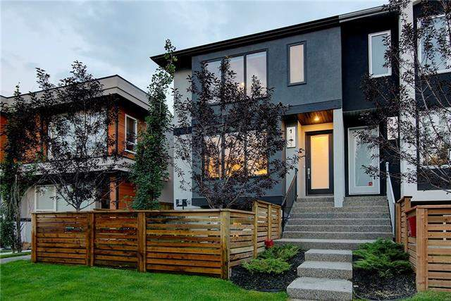 #1 1922 25a ST Sw, Calgary  Richmond homes for sale