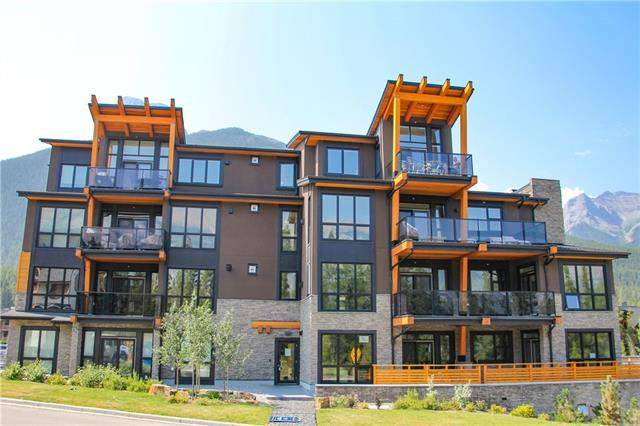 #103 101a Stewart Creek Ri, Canmore  Three Sisters homes for sale