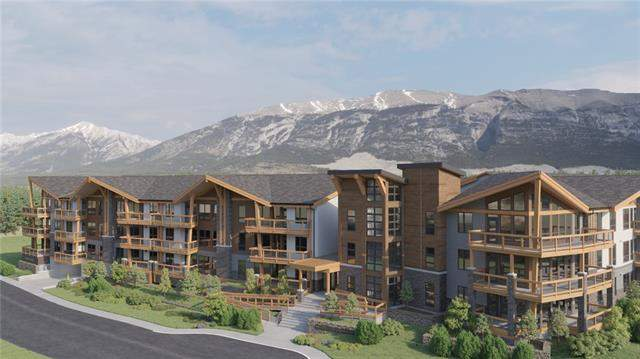 #212 106 Stewart Creek Rise, Canmore  Three Sisters homes for sale
