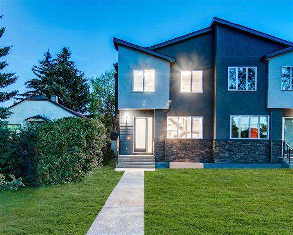 405 24 AV Nw, Calgary Mount Pleasant real estate, Attached Avonmore homes for sale