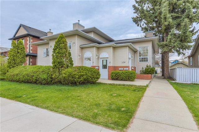 #4 124 19 AV Ne, Calgary, Tuxedo Park real estate, Attached Balmoral homes for sale