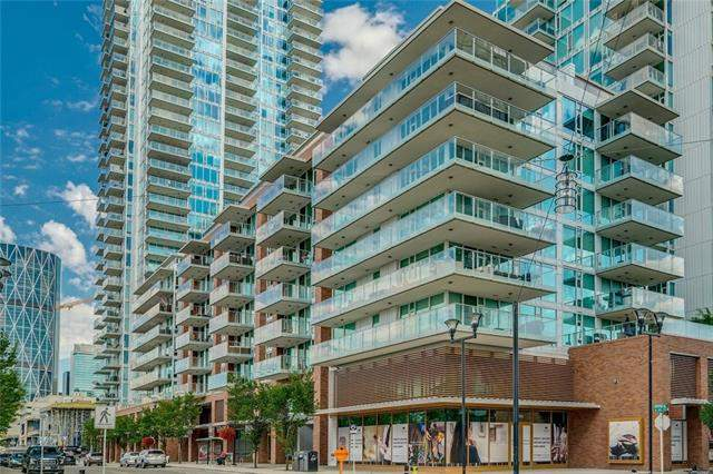 #507 560 6 AV Se, Calgary, Downtown East Village real estate, Apartment Downtown East Village homes for sale