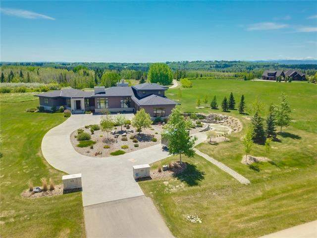 10 Swift Creek Pl in Springbank Rural Rocky View County MLS® #C4209395