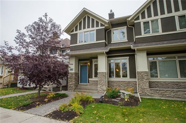 219 14 AV Ne, Calgary Crescent Heights real estate, Attached Crescent Heights homes for sale