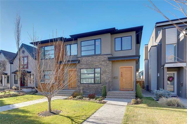 403 16 ST Nw, Calgary, Hillhurst real estate, Attached Kensington/Hillhurst homes for sale