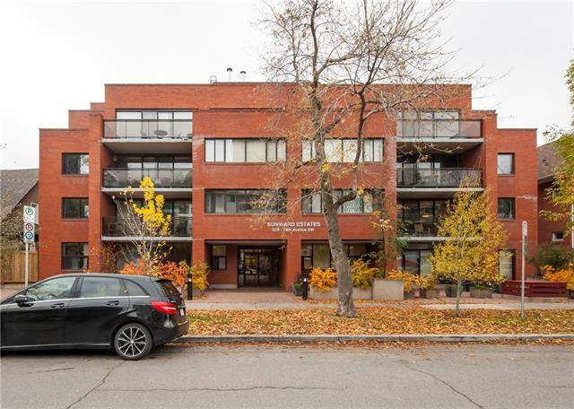 #405 929 18 AV Sw, Calgary Lower Mount Royal real estate, Apartment Lower Mount Royal homes for sale