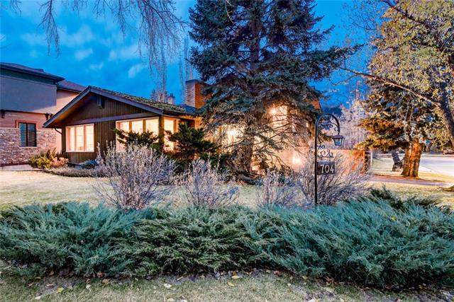 704 Lansdowne AV Sw, Calgary Elbow Park real estate, Detached Glencoe homes for sale