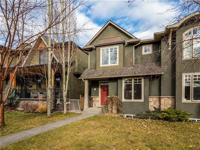 1708 7 AV Nw, Calgary Hillhurst real estate, Attached Kensington/Hillhurst homes for sale