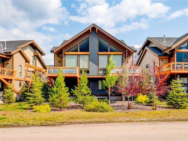 #702  Stewart Creek Ri, Canmore Three Sisters real estate, Attached Canmore homes for sale