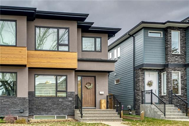 3917 2 ST Nw, Calgary, Highland Park real estate, Attached Highland Park homes for sale