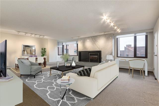 #702b 500 Eau Claire AV Sw, Calgary Eau Claire real estate, Apartment East Village homes for sale