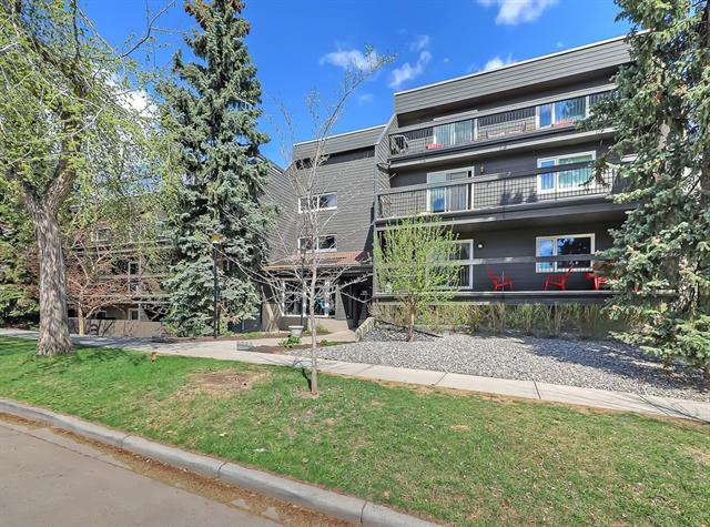 #206 234 5 AV Ne, Calgary Crescent Heights real estate, Apartment Crescent Heights homes for sale