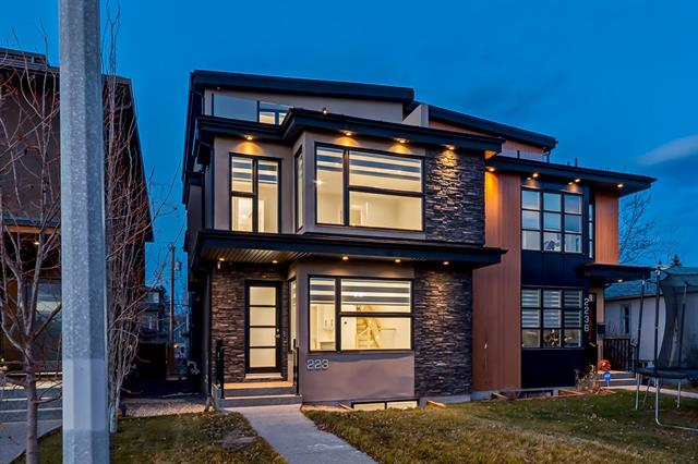 2238 1 AV Nw, Calgary West Hillhurst real estate, Attached West Hillhurst homes for sale