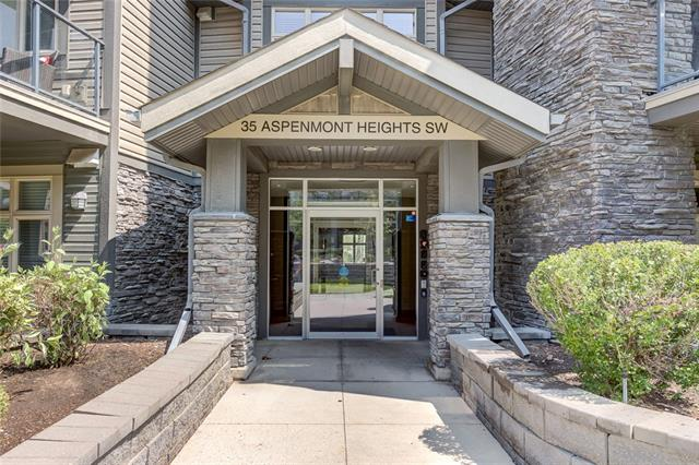 #232 35 Aspenmont Ht Sw, Calgary Aspen Woods real estate, Apartment Aspen Woods homes for sale