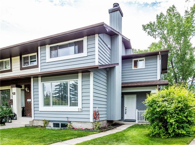 59 Coachway RD Sw, Calgary Coach Hill real estate, Attached Coach Hill homes for sale