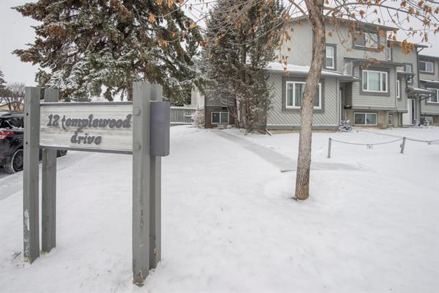 #1 12 Templewood DR Ne, Calgary Temple real estate, Attached Temple homes for sale