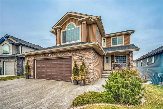 186 Topaz Ga, Chestermere Rainbow Falls real estate, Detached Rainbow Falls homes for sale