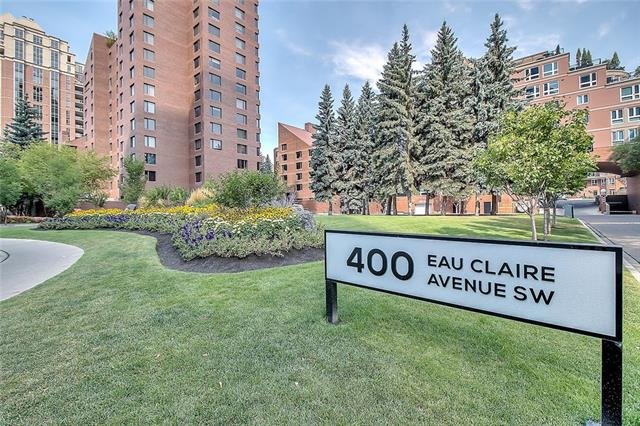 #8602 400 Eau Claire AV Sw, Calgary Eau Claire real estate, Apartment East Village homes for sale