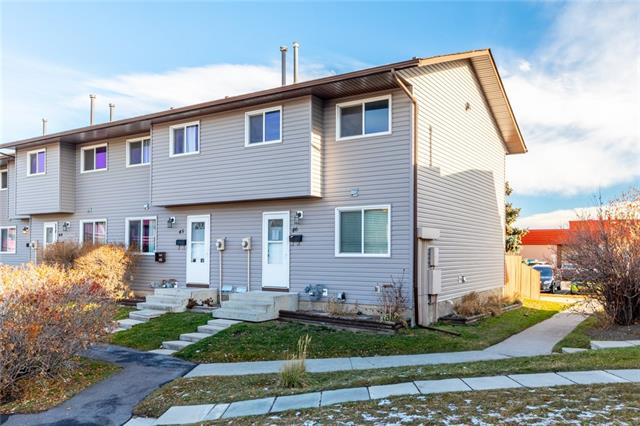 #46 6020 Temple DR Ne, Calgary Temple real estate, Attached Temple homes for sale