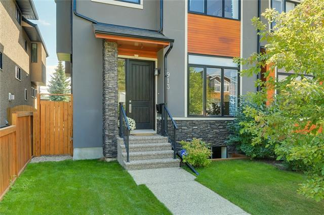 913 21 AV Nw, Calgary Mount Pleasant real estate, Attached Antler Meadows homes for sale