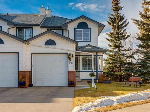 501 Citadel Tc Nw, Calgary, Citadel real estate, Attached Citadel homes for sale