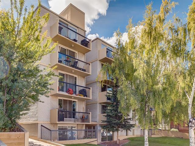 #401 1129 Cameron AV Sw, Calgary Lower Mount Royal real estate, Apartment Lower Mount Royal homes for sale