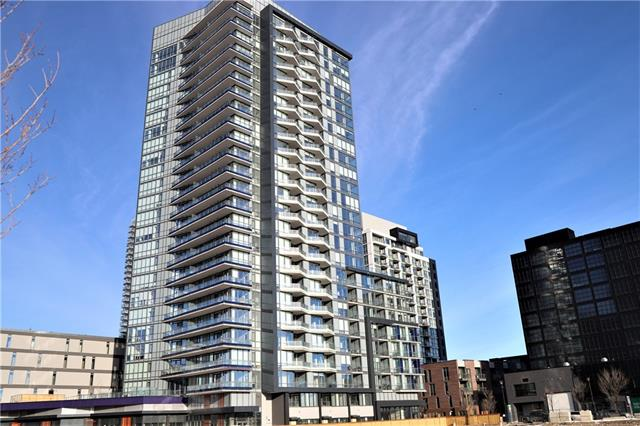 #702 615 6 AV Se, Calgary, Downtown East Village real estate, Apartment Downtown East Village homes for sale