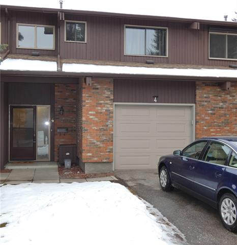 #4 2323 Oakmoor DR Sw, Calgary Palliser real estate, Attached Palliser homes for sale