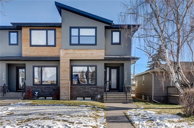 2236 27 ST Sw, Calgary Killarney/Glengarry real estate, Attached Glengarry homes for sale