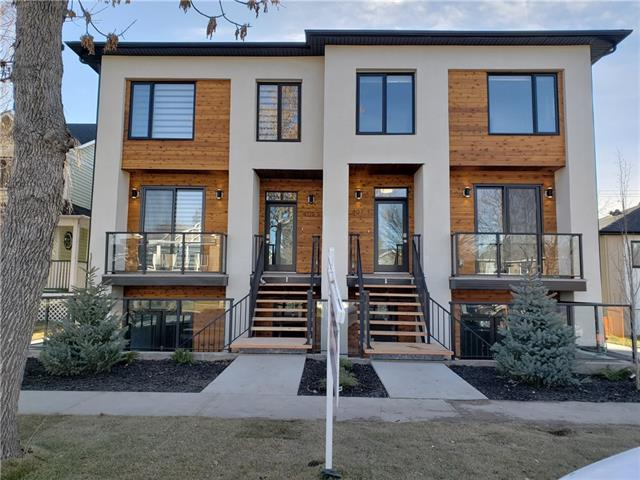 #1 409 14 AV Ne, Calgary Renfrew real estate, Attached Regal Terrace homes for sale
