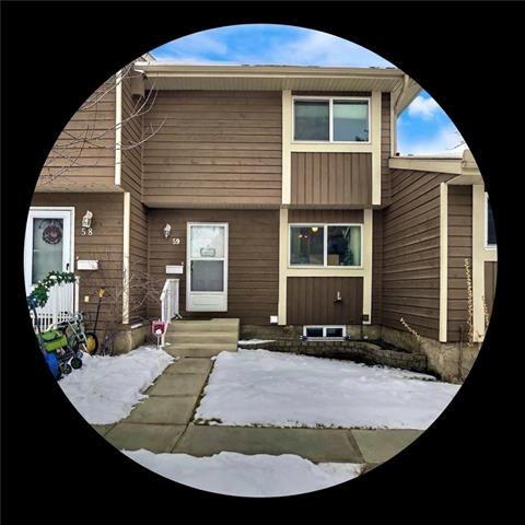 #59 14736 Deerfield DR Se, Calgary, Deer Run real estate, Attached Deer Run homes for sale