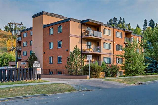 #307 728 3 AV Nw, Calgary Sunnyside real estate, Apartment Kensington homes for sale