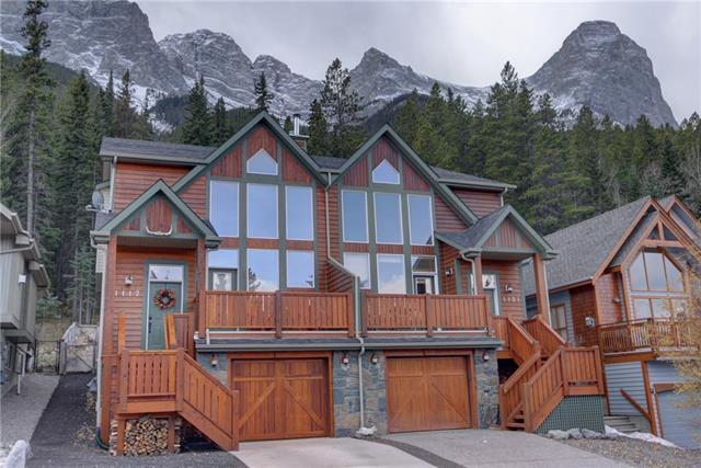 1117 Wilson Wy, Canmore Quarry Pines real estate, Attached Canmore homes for sale
