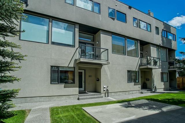 #107 1720 12 ST Sw, Calgary Lower Mount Royal real estate, Attached Lower Mount Royal homes for sale