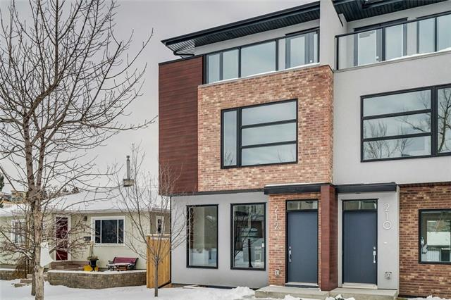210 11 ST Ne, Calgary, Bridgeland/Riverside real estate, Attached Bridgeland/Riverside homes for sale