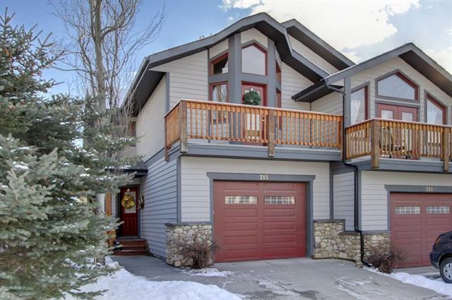 215 Eagle Terrace Rd, Canmore, Eagle Terrace real estate, Attached Canmore homes for sale