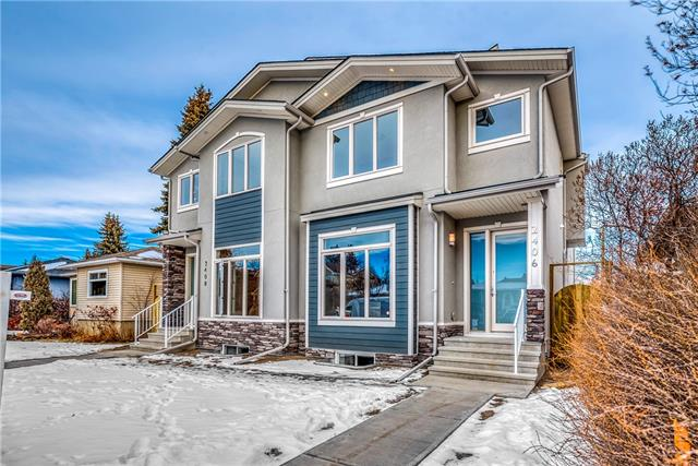 2406 22 ST Nw, Calgary, Banff Trail real estate, Attached Banff Trail homes for sale