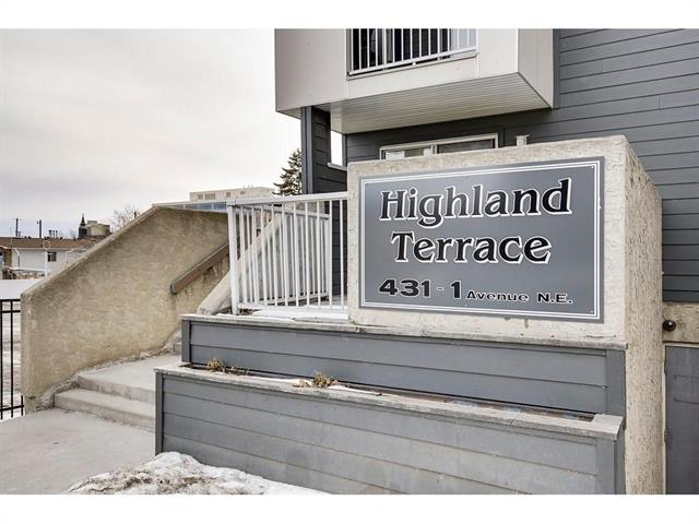 #204 431 1 AV Ne, Calgary, Crescent Heights real estate, Apartment Crescent Heights homes for sale