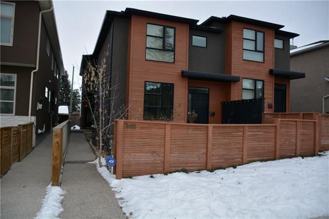 #2 2410 29 ST Sw, Calgary, Killarney/Glengarry real estate, Attached Glengarry homes for sale