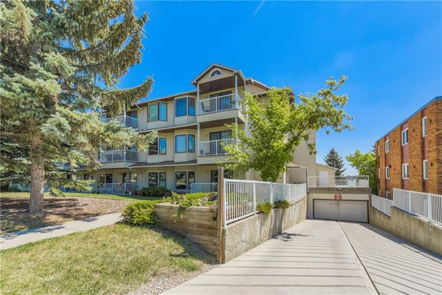 #210 3606 Erlton Co Sw, Calgary, Parkhill real estate, Apartment Alhambra homes for sale