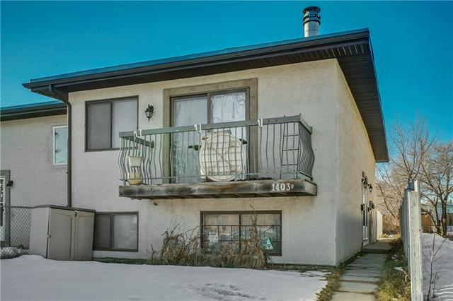 #e 1403 44 ST Se, Calgary, Forest Lawn real estate, Attached Forest Lawn homes for sale