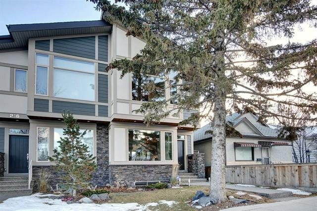 214 9a ST Ne, Calgary, Bridgeland/Riverside real estate, Attached Bridgeland/Riverside homes for sale