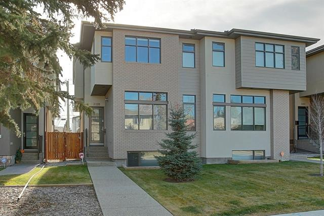 2339 22 AV Sw, Calgary, Richmond real estate, Attached Knobhill homes for sale