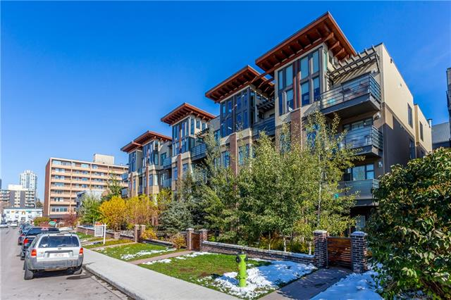 #401 1720 10 ST Sw, Calgary, Lower Mount Royal real estate, Apartment Lower Mount Royal homes for sale