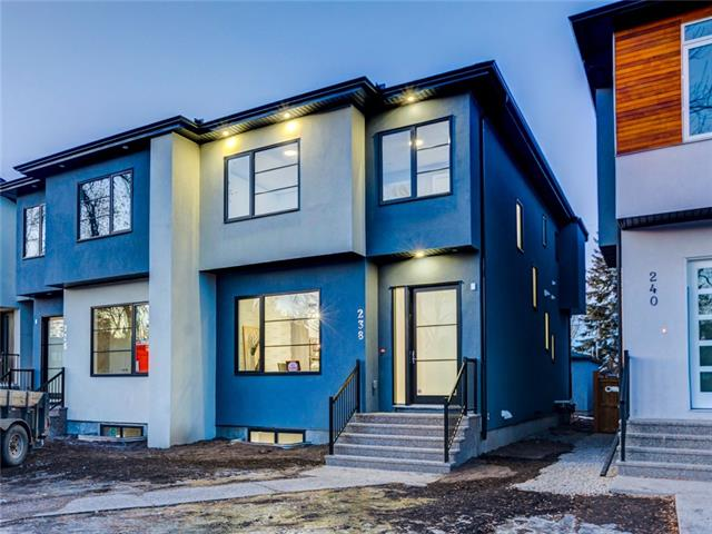 238 24 AV Ne, Calgary, Tuxedo Park real estate, Attached Balmoral homes for sale