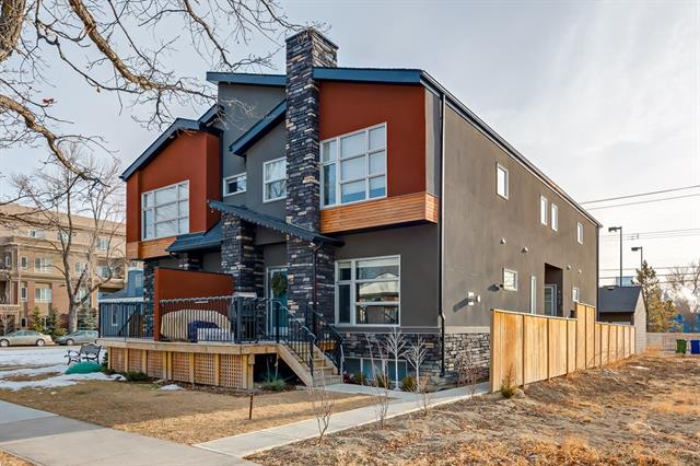 #2 407 17 AV Nw, Calgary, Mount Pleasant real estate, Attached Mount Pleasant homes for sale