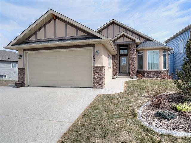 80 Lakes Estates Ci, Strathmore, Strathmore Lakes Estates real estate, Detached Strathmore homes for sale