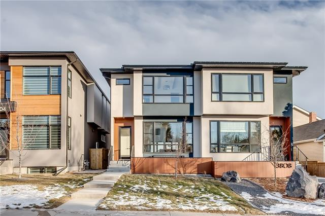 3806 Parkhill ST Sw, Calgary, Parkhill real estate, Attached Stanley Park homes for sale