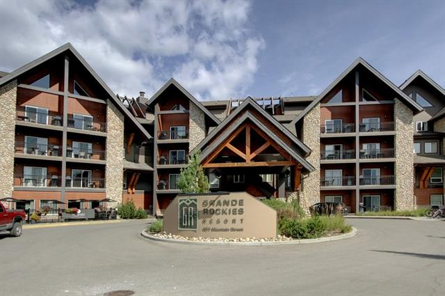 #328 901 Mountain St, Canmore, Bow Valley Trail real estate, Apartment Bow Valley Trail homes for sale