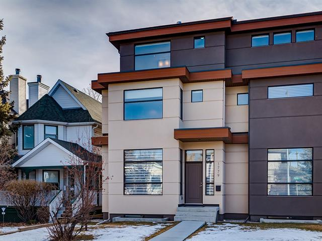 1779 1 AV Nw, Calgary, Hillhurst real estate, Attached Kensington/Hillhurst homes for sale